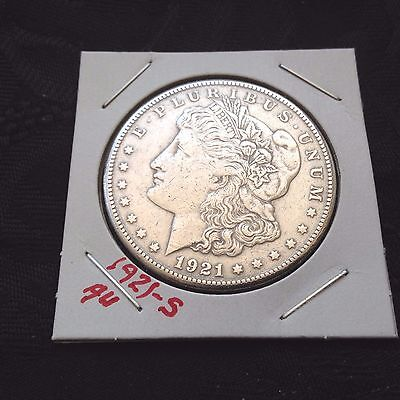 1921-S   Morgan Silver Dollar  But You Be The Judge