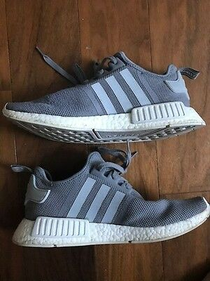Adidas NMD R1 Ultra Boost Grey Mesh Size 11 S31503 USED 100% Authentic