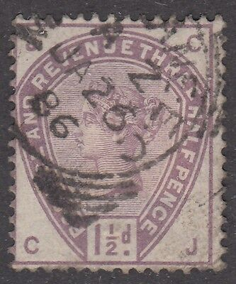 Great Britain CDS Cancel SG #188  1 1/2d  lilac