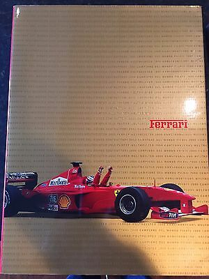 Original Ferrari Factory Yearbook for year 2000! Free shiping from the U.S.