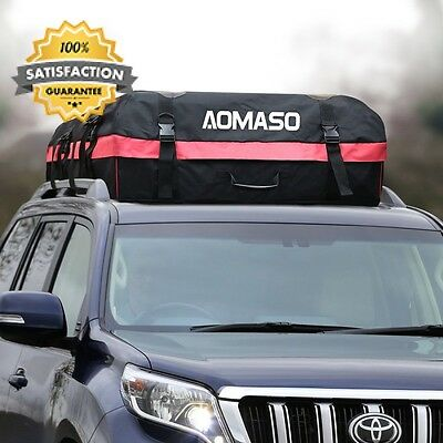Aomaso Car Top Carrier Waterproof Roof Cargo Rack 10 Cubic Feet Storage Box...