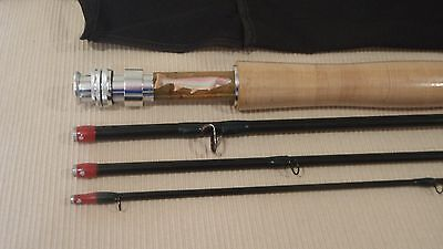 New! Fly Rod Custom Built By Seller Im8 Graphite 4Wt',9'  4Pc Gloss Green