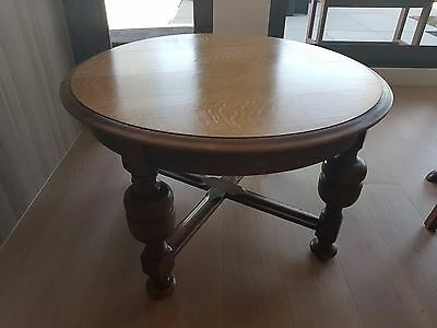 Jacobean style English Oak side table