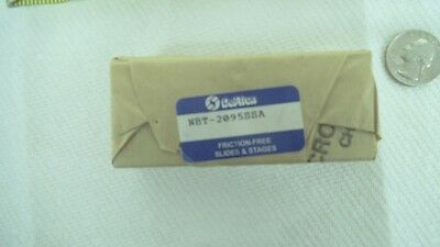 "Deltron Precision crossed roller slide, NBT2095SSA, 2-1/2"" travel, nos"
