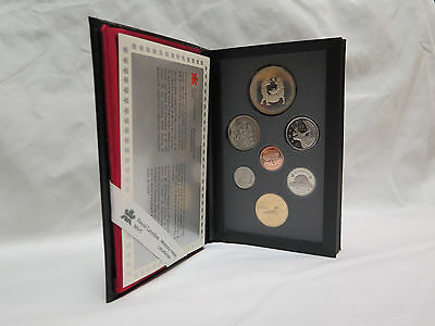 1988 Royal Canadian Mint Proof Set Silver Dollar 7 Coins St. Maurice Ironworkers