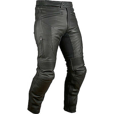 Weise Hydra Black Motorcycle Motorbike Armoured Leather Sports Jeans All Sizes