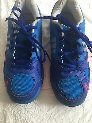 Boys Wilson Tennis Shoes - Worn Once Only - EXCELLENT CONDITION