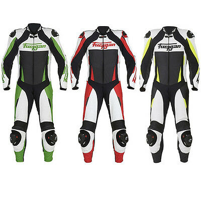 Furygan Full Apex Perforated Leather 1 One Piece Motorcycle Motorbike Suit