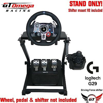 GT Omega Steering Wheel stand PRO For Logitech G29 Racing Wheel PS4, PS3, PC V2