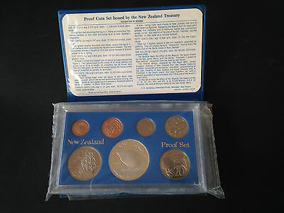 New Zealand proof coin set 1982