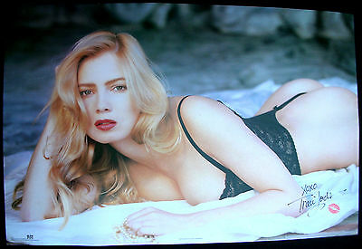 TRACI LORDS Lying In Black Vintage Original USA Personality Poster 1992 #2061