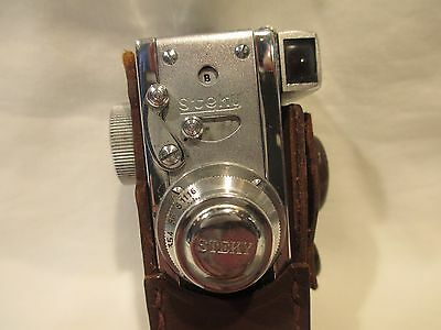 STEKY MODEL III 16mm WITH 3.5-25mm LENS SPY MINIATURE CAMERA