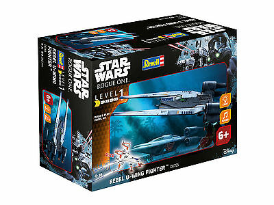 Revell Modellbausatz Build & Play Star Wars Rebel U Wing Fighter Maßstab 1:100