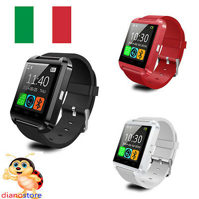 Smartwatch U8-101 Orologio Intelligente Bluetooth Smartphone Ios Android Windows