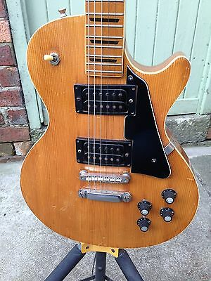 VINTAGE 1970s KAY ELECTRIC GUITAR. LES PAUL COPY.