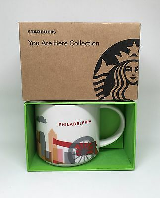 New Starbucks Coffee Philadelphia Mug You are Here YAH Collection