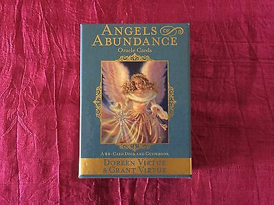 Doreen Virtue's Angels of Abundance Cards signed to you with personal message
