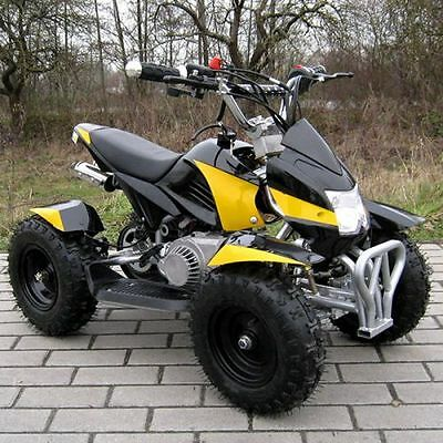 Miniquad Atv Cobra 49cc Pocketquad Quad Pocket Bike Kinderquad schwarz-gelb