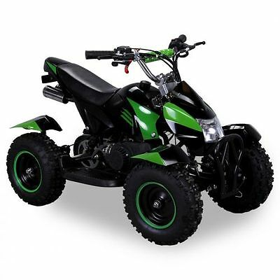 Miniquad Atv Cobra 49cc Pocketquad Quad Pocket Bike Kinderquad schwarz-grün