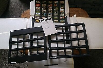 Ilford Cibachrome-A contact printing frame for mounted transparences, unused