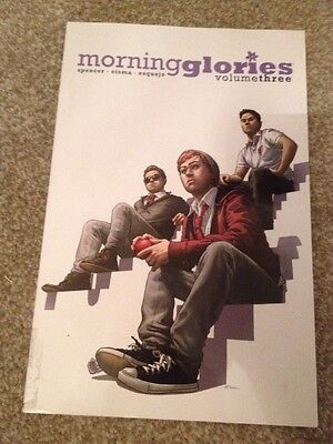 Morning Glories volume 3 image comics graphic novel tpb ex library