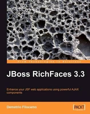 JBoss RichFaces 3.3 by Demetrio Filocamo (English) Paperback Book Free Shipping!