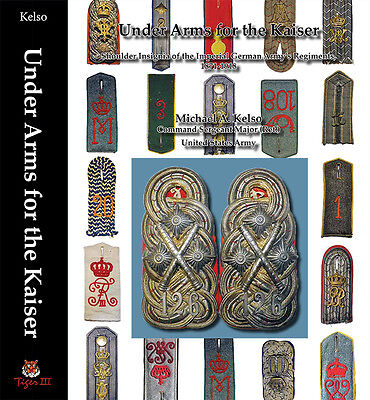 WWI German shoulder boards straps insignia reference book and history