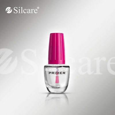 SILCARE Base One ACID FREE Primer UV Gel HYBRID Nails Increase Adhesion 9ml 15ml