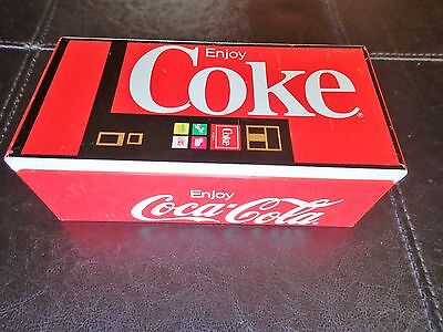 COKE MACHINE MINIATURE VINTAGE Coca-Cola COIN BANK HANDKERCHIEFS Tin Box RARE!