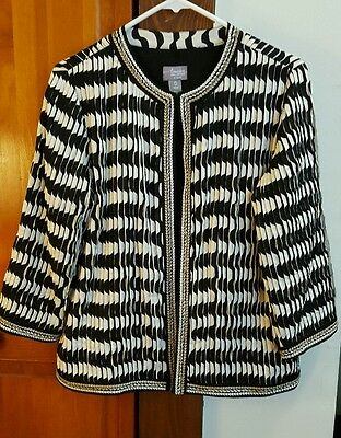 Chicos travelers collection 0 jacket