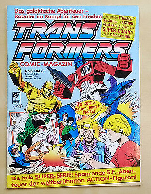 Transformers  G1 German Comic Magazin issue 06 - Crazy cover!