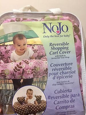 Shopping Cart Cover Pink & brown