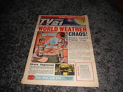 Tv 21 Century 1965 No 46 Big Comic Dr Who Daleks Supercar  Fireball Xl5 Stingray