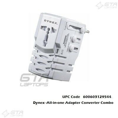 Travel Essentials Dynex -All-in-one Adapter Converter Combo UPC 600603129544
