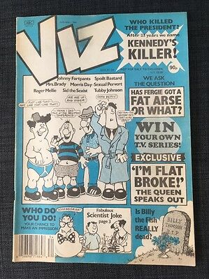 Viz comic early Issue no 34, released 1989