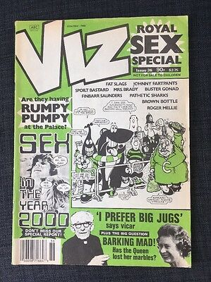 Viz comic early Issue no 36, released 1989