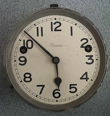 Old Gensign Clock Face And Movement