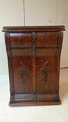 New Home parlor cabinet treadle sewing machine