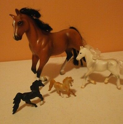 Collectible Lot of 4 Empire Horses