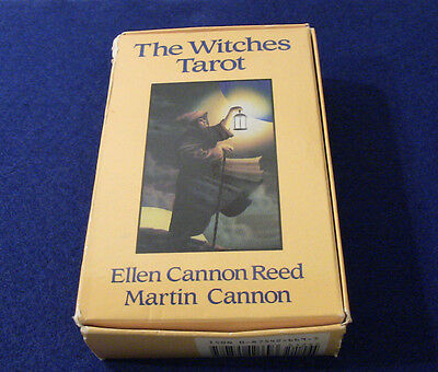 The Witches Tarot: Ellen Cannon Reed, Martin Cannon 1989, Llewellyn Producttions