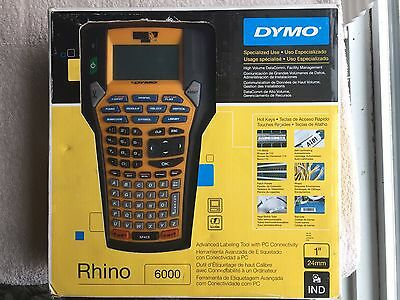 DYMO Rhino Industrial 6000 Label Maker 1734519 Desktop Thermal Label Printer