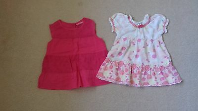 Two Girls Summer Tops Age 18-24 Months