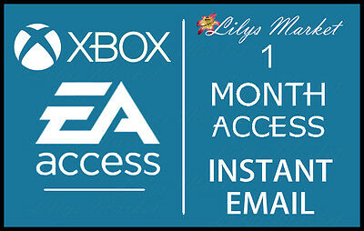 EA Access 1 Month Subscription Key for Xbox One - READ DESCRIPTION BEFORE BUYING