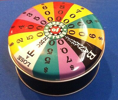 Vintage WHEEL OF FORTUNE WATCH - New in Tin