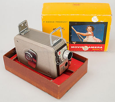Vintage Kodak Brownie 8mm Movie Camera Model 2 Original Box