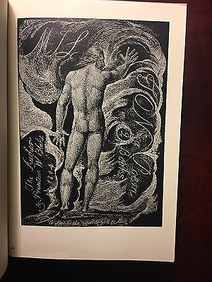 WILLIAM BLAKE Poetical Works ILLUSTRATED Poems Antique Book 1ST EDITION Songs of