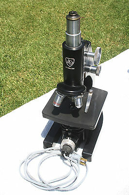 AO Research Microscope WELL EQUIPPED