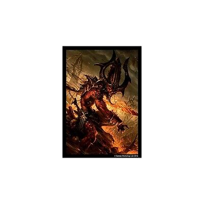 Warhammer 40,000 Conquest Art Sleeves New Sealed 50 Sleeves Chaos Demons