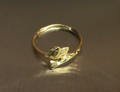 22k GOLD RING STAMPED 916 1.9grams JEWELLERY STUNNING BEAUTIFUL SIZE P 1/2