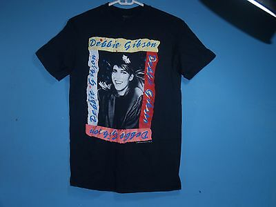 Vintage 1989 DEBBIE GIBSON ELECTRIC YOUTH Tour Concert T-Shirt Small 80's Pop